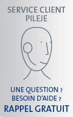 SERVICE CLIENT PILEJE - UNE QUESTION ? BESOIN D'AIDE ? RAPPEL GRATUIT